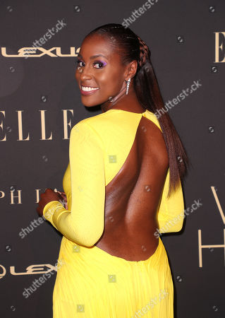 Editorial image of Elle Women in Hollywood, Arrivals, Four Seasons Hotel, Los Angeles, USA - 14 Oct 2019