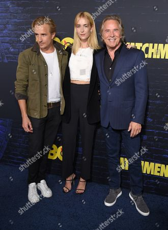 Editorial image of 'Watchmen' TV show premiere, Arrivals, Cinerama Dome, Los Angeles, USA - 14 Oct 2019