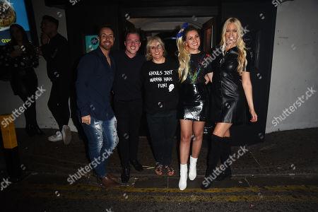 Larissa Eddie, Hayley Palmer, Stevie Ritchie and Paul Manner