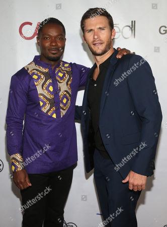 David Oyelowo and Scott Eastwood