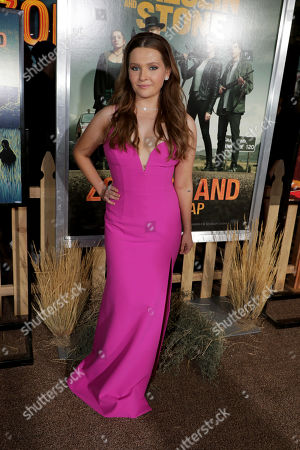 Editorial picture of Columbia Pictures 'Zombieland: Double Tap' world film premiere at the Regency Village Theatre, Los Angeles, USA - 10 Oct 2019