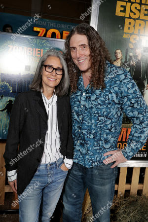 Stock Picture of Suzanne Yankovic and Weird Al Yankovic