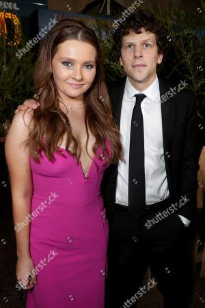 Abigail Breslin and Jesse Eisenberg