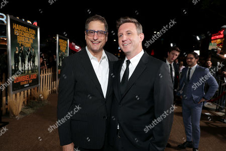 Tom Rothman, Chairman, Sony Pictures Entertainment Motion Picture Group, and Ruben Fleischer, Director/Executive Producer,
