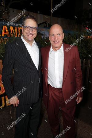 Tom Rothman, Chairman, Sony Pictures Entertainment Motion Picture Group, and Woody Harrelson