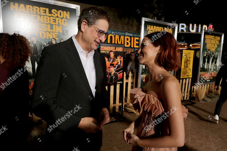 Tom Rothman, Chairman, Sony Pictures Entertainment Motion Picture Group, and Emma Stone