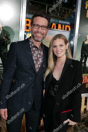 Rhett Reese, Writer/Executive Producer, and Chelsey Crisp