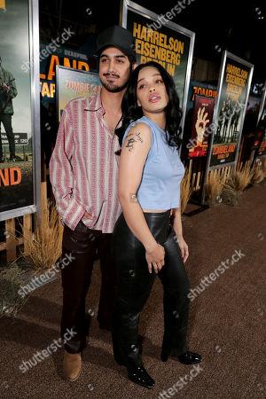 Stock Photo of Avan Jogia and Cleopatra Coleman