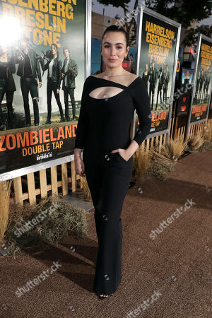 Editorial image of Columbia Pictures 'Zombieland: Double Tap' world film premiere at the Regency Village Theatre, Los Angeles, USA - 10 Oct 2019