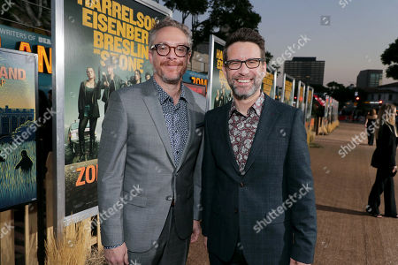 Stock Picture of Paul Wernick, Writer/Executive Producer, and Rhett Reese, Writer/Executive Producer,