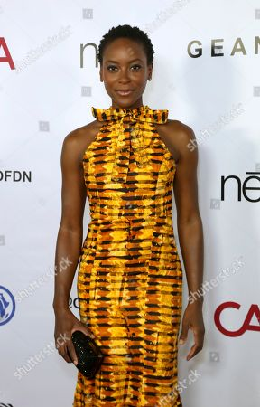 Stock Image of Tracy Ifeachor attends the GEANCO Foundation Hollywood Gala at the SLS Beverly Hills, in Los Angeles