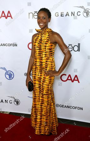 Stock Picture of Tracy Ifeachor attends the GEANCO Foundation Hollywood Gala at the SLS Beverly Hills, in Los Angeles