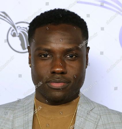 Stock Photo of Dayo Okeniyi attends the GEANCO Foundation Hollywood Gala at the SLS Beverly Hills, in Los Angeles