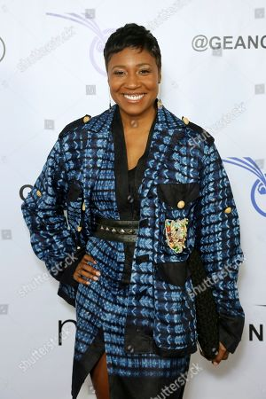 Stock Photo of Joy McElveen attends the GEANCO Foundation Hollywood Gala at the SLS Beverly Hills, in Los Angeles