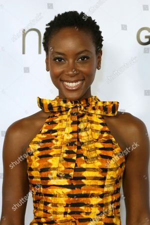 Tracy Ifeachor attends the GEANCO Foundation Hollywood Gala at the SLS Beverly Hills, in Los Angeles