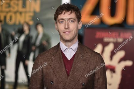 "Thomas Middleditch attends the LA Premiere of ""Zombieland: Double Tap"" at the Regency Village Theatre, in Los Angeles"