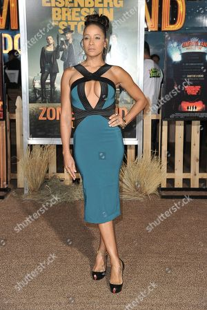 "Dania Ramirez attends the LA Premiere of ""Zombieland: Double Tap"" at the Regency Village Theatre, in Los Angeles"