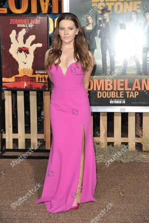 "Abigail Breslin attends the LA Premiere of ""Zombieland: Double Tap"" at the Regency Village Theatre, in Los Angeles"
