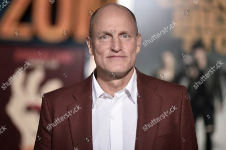 "Woody Harrelson attends the LA Premiere of ""Zombieland: Double Tap"" at the Regency Village Theatre, in Los Angeles"
