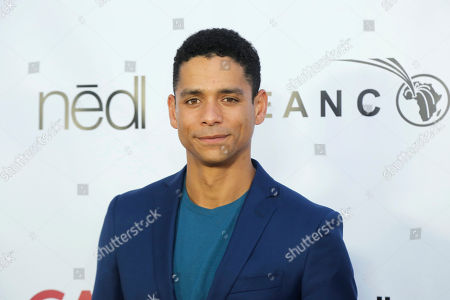Charlie Barnett attends the GEANCO Foundation Hollywood Gala at SLS Beverly Hills, in Los Angeles