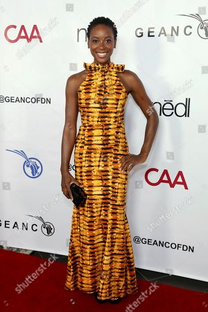 Tracy Ifeachor attends the GEANCO Foundation Hollywood Gala at SLS Beverly Hills, in Los Angeles