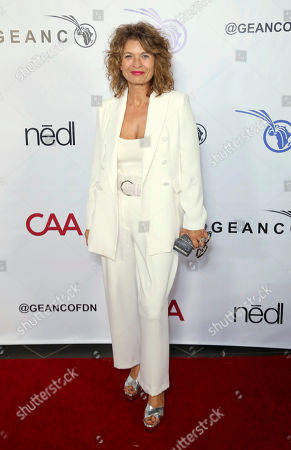 Gabrielle Scharnitzky attends the GEANCO Foundation Hollywood Gala at SLS Beverly Hills, in Los Angeles