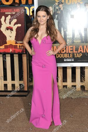 """Editorial photo of LA Premiere of """"Zombieland: Double Tap"""", Los Angeles, USA - 10 Oct 2019"""