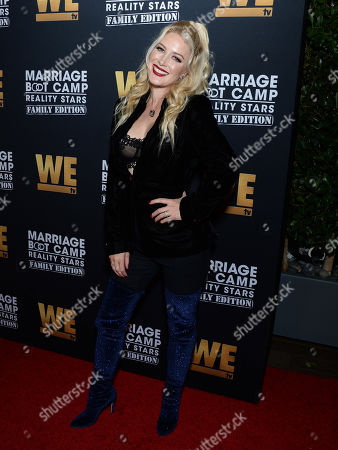 Editorial image of WE tv 'Marriage Boot Camp: Family Edition' premiere, Skybar at Mondrian, Los Angeles, USA - 10 Oct 2019