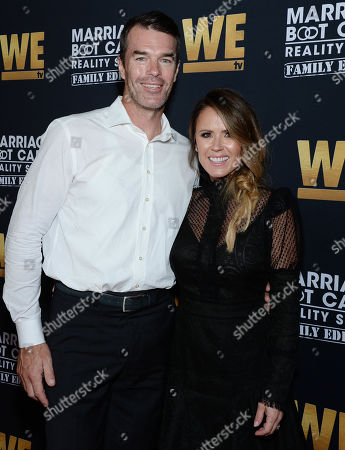 Stock Picture of Ryan Sutter and wife Trista Sutter
