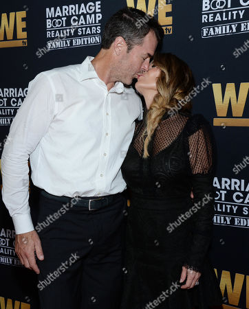 Stock Photo of Ryan Sutter and wife Trista Sutter