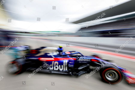 French Formula One driver Pierre Gasly of Scuderia Toro Rosso in action during the second practice session ahead of the Japanese Formula One Grand Prix in Suzuka, Japan, 11 October 2019. The Japanese Formula One Grand Prix will take place on 13 October 2019.