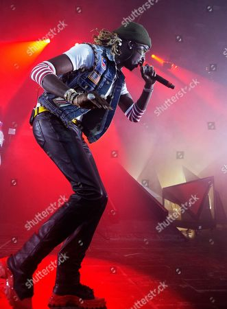 Editorial image of Young Thug and Machine Gun Kelly In Concert - , Philadelphia, USA - 10 Oct 2019