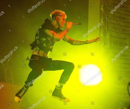 Machine Gun Kelly performs in concert at The Met, in Philadelphia