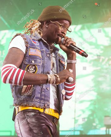 Young Thug performs in concert at The Met, in Philadelphia