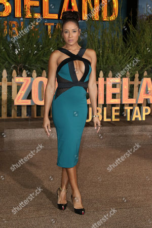 Dania Ramirez arrives for the premiere of the movie 'Zombieland: Double Tap' at the Regency Village Theater in Los Angeles, California, USA, 10 October 2019. The movie will be released in theaters 18 October.