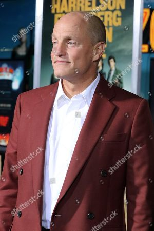Stock Photo of Woody Harrelson poses on the red carpet as he arrives for the premiere of the movie 'Zombieland: Double Tap' at the Regency Village Theater in Los Angeles, California, USA, 10 October 2019. The movie will be released in theaters 18 October.