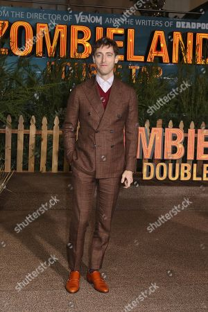 Thomas Middleditch poses on the red carpet as he arrives for the premiere of the movie 'Zombieland: Double Tap' at the Regency Village Theater in Los Angeles, California, USA, 10 October 2019. The movie will be released in theaters 18 October.