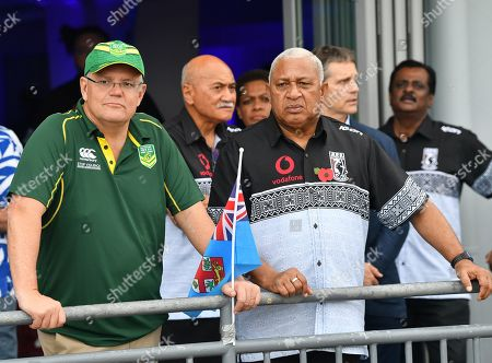 Editorial photo of Australian Prime Minister Scott Morrison visits Fiji, Suva - 11 Oct 2019