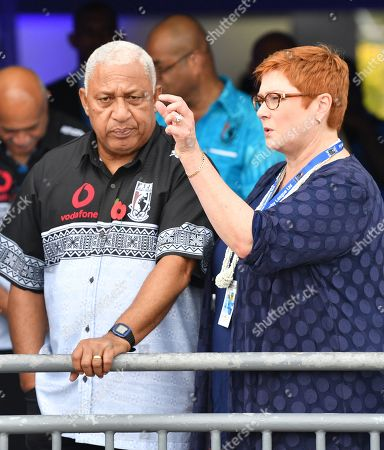 Editorial image of Australian Prime Minister Scott Morrison visits Fiji, Suva - 11 Oct 2019