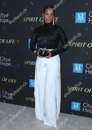 Stock Image of Alicia Keys