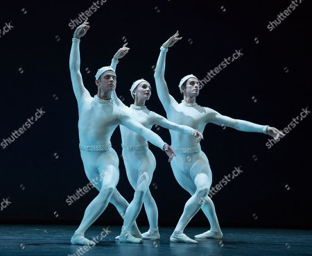 """Editorial photo of """"Merce Cunningham Centennial' Dance performed in the Linbury Theatre, Royal Opera House, London, UK - 09 Oct 2019"""