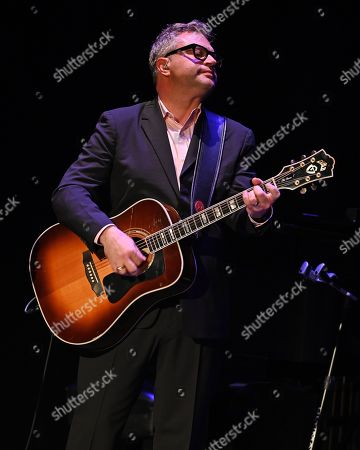 Editorial photo of Steven Page in concert at The Broward Center, Fort Lauderdale, USA - 10 Oct 2019