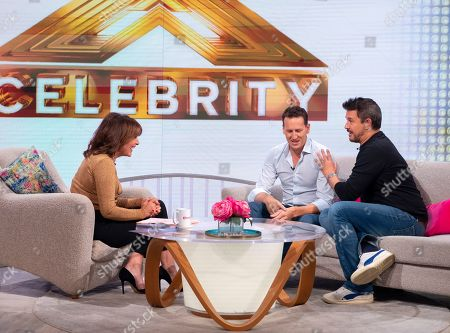 Lorraine Kelly, Brendan Cole and Jeremy Edwards
