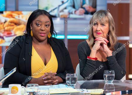 Editorial image of 'Good Morning Britain' TV show, London, UK - 11 Oct 2019