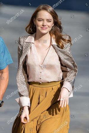 Stock Picture of Emma Stone