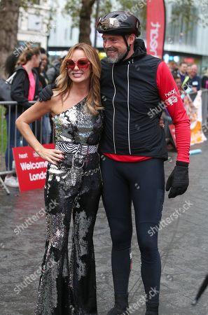 Amanda Holden and Jamie Theakston
