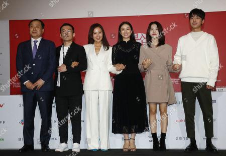 Editorial photo of Moonlit Winter - Pressconference - 24th Busan International Film Festival, Korea - 11 Oct 2019