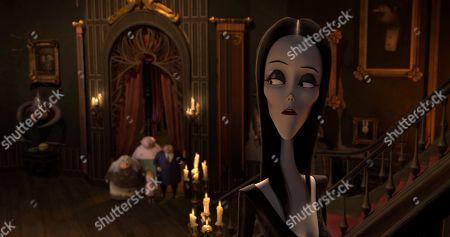 Morticia Addams (Charlize Theron)
