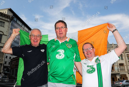 Michael Kennedy (Kerry), Gerard Donnelly and Paul Butler (both Dublin)