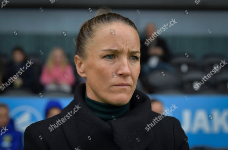 Stock Photo of Casey Stoney Head Coach of Manchester United Women